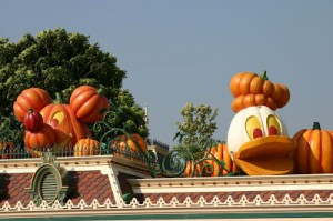 Disneyland Honk Kong During Halloween
