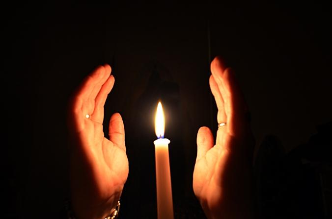 Hands Focusing Energy